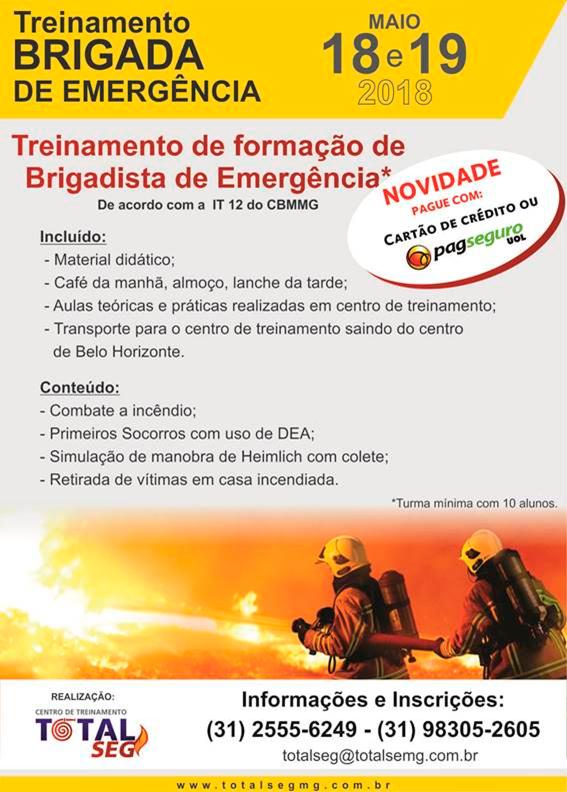 Treinamento Brigada de Emergência - 18 e 19 de Maio de 20198